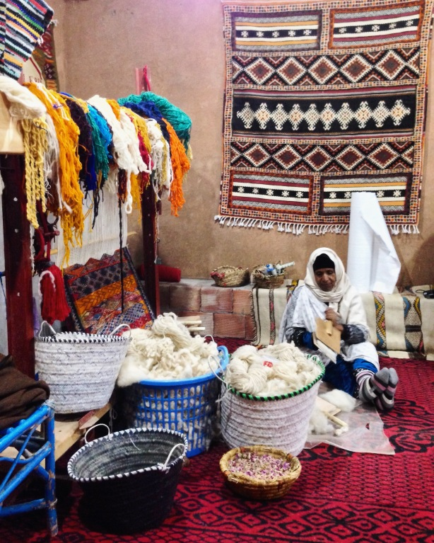Women Cooperation in Todra Gorge