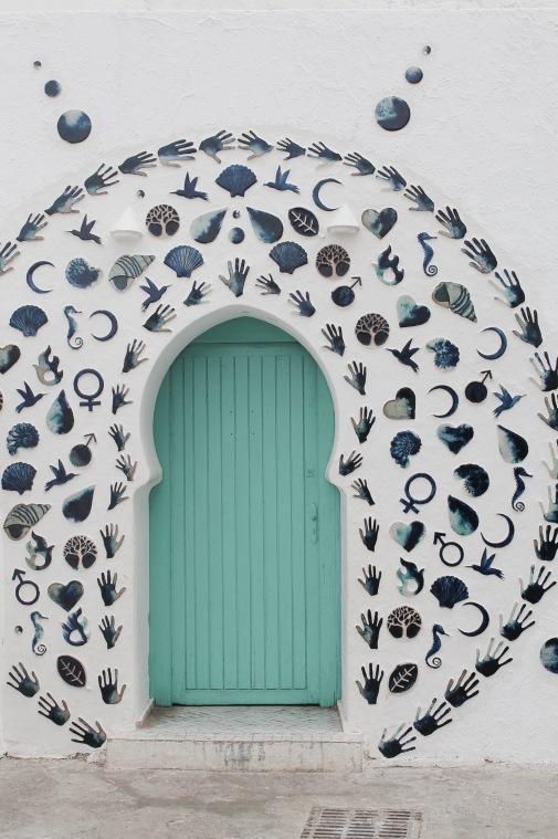 Assilah - Decorated Door
