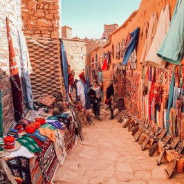 Shopping in Ait Ben Haddou